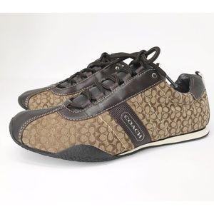 Coach Kelsie Monogram Sneaker Sz 8.5